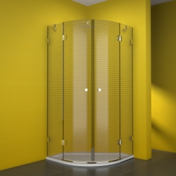 TEIKO sprchový kout čtvrtkruhový NSKKH 2/100 R55 MASTER CARRE 100x100x187 (V333100N57T22553)