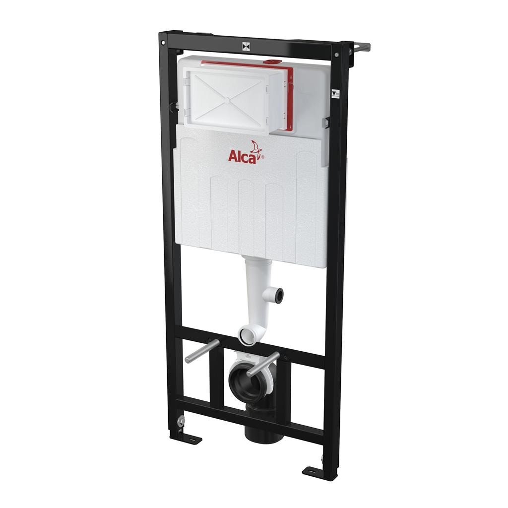 Alca plast Předstěnový instalační systém s odvětráváním pro suchou instalaci - do sádrokartonu (AM10