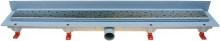 HACO Podlahový lineární žlab ke stěně 650 mm square mat HC0542/4 HC0542/4