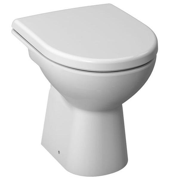 JIKA WC mísa Lyra Plus s vodorovným odpadem, samostatně stojící klozet 8.2138.6.000.000.1 H821386000