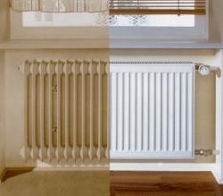 Kermi radiátor Profil bílá K33  554 x  500 Levý / Pravý REKONSTRUKCE (FK033D505)
