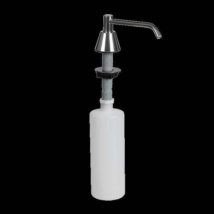 Sanela SLZN 17 Zápustný chromovaný dávkovač tekutého mýdla 0,6 l, lesklý SL 95170