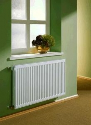 Kermi radiátor Profil bílá K10  400 x  400 Levý / Pravý  (FK0100404)
