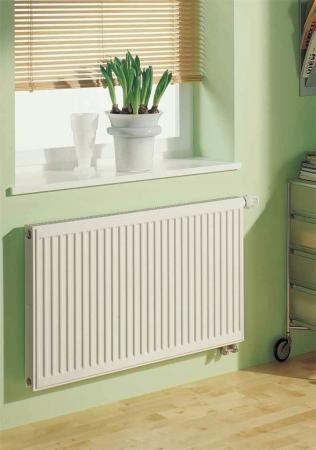 Kermi radiátor Profil bílá V12  500 x  500 Pravý  (FTV120500501R1K)