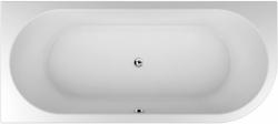 TEIKO vana volně stojící COMA LEVÁ Bílá 180 x 80 x 45 (V112180L32T04001)
