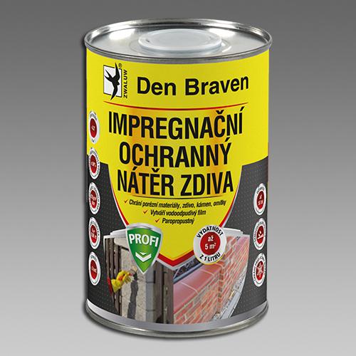 DEN BRAVEN Impregnační a ochranný nátěr zdiva 5L Profi CH00032 CH00032