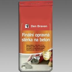 DEN BRAVEN - Stěrka na beton finální opravná  5kg Quartz Finál 57600Q (57600Q)