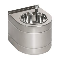 Sanela SLUN 14EB Nerezová pitná fontánka závěsná s automaticky ovládaným výtokem, 6V,povrch lesklý (SL 93142)