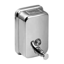 Sanela SLZN 07 Nerezový dávkovač tekutého mýdla, obsah 0,5 l, lesklý (SL 95070)