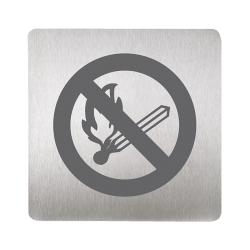 Sanela SLZN 44N Piktogram -  zákaz otevřeného ohně (SL 95448)