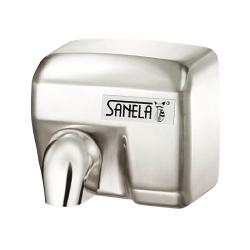 Sanela SLO 02E Automatický bezdotykový osoušeč rukou s nerezovým matným krytem (SL 79024)