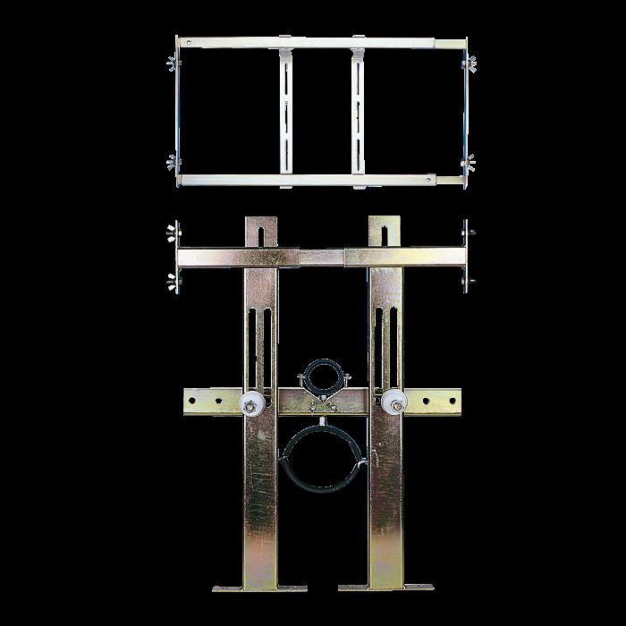 Sanela SLR 03N Rám určený do sádrokartonových konstrukcí pro závěsná WC se splachovačem SL 08031