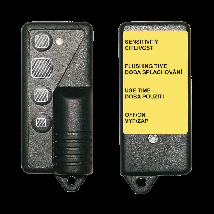 Sanela SLD 04 Dálkové ovládání pro nastavení radarových splachovačů a piezo ovládání SL 07040