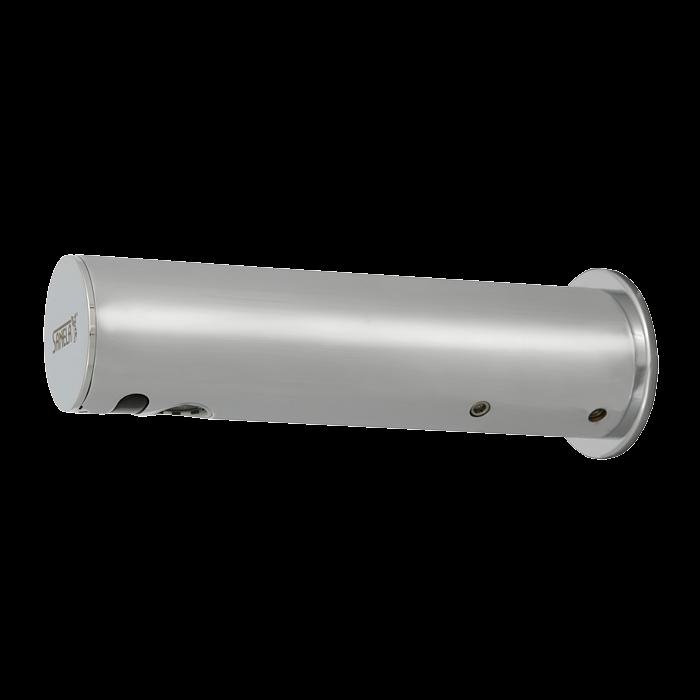 Sanela SLU 43KB Automatická chromová nástěnná baterie na jednu vodu s elektronikou ALS, 6V SL 03431