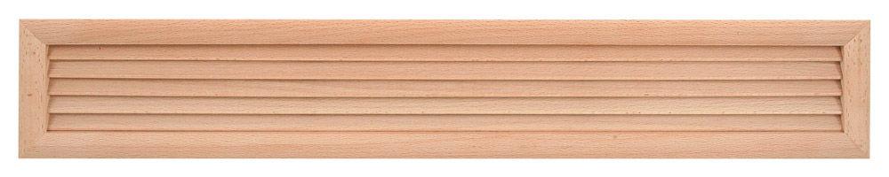 HACO Dřevěná větrací mřížka dveřní 500x90 HC1003 HC1003