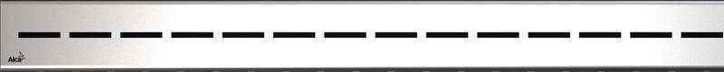 ALCAPLAST ROUTE-850L lesklý rošt nerez pro žlab APZ13 Modular ROUTE-850L