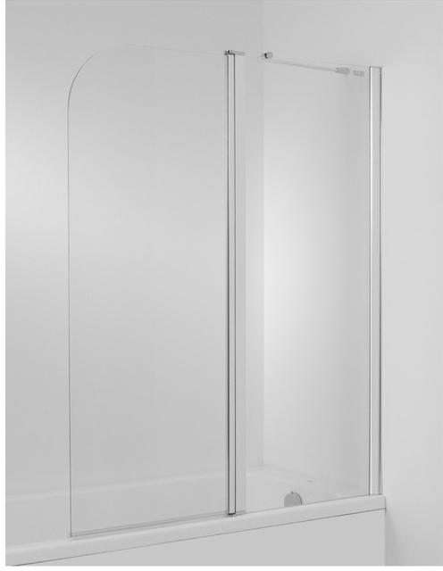JIKA Cubito vanová zástěna115x140 Pravá, transparentní sklo 2.5742.6.002.668.1 H2574260026681 H2574260026681