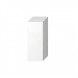 JIKA Cubito-N BÍLÁ skříňka střední 32x81x32, Levé dveře, 2 police skleněné  H43J4211105001 (H43J4211105001)
