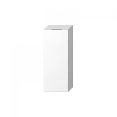 JIKA Cubito-N BÍLÁ skříňka střední mělká 32x81x15, Pravé dveře, 2 police skleněné  H43J4241205001 (H43J4241205001)