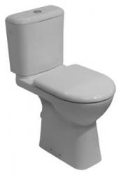 JIKA - Invalidní DEEP WC kombi mísa v.48cm, rovný odpad, bez nádrže (zvýšený o 8 cm)  H8236160000001 (H8236160000001)