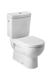 JIKA MIO bílá WC mísa kombi bez nádrže, VARIO odpad 8.2371.6.000.000.1 H8237160000001