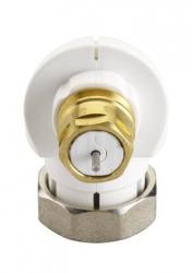 DANFOSS rohový adaptér pro ventil se závitemM30x1,5 a hlavice RA a RAE s klip.upevněním 013G1360 (013G1360)