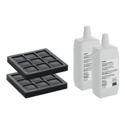 Geberit AquaClean filtr s aktivním uhlím a čistící prostředek (sada po 2ks) (240.626.00.1)
