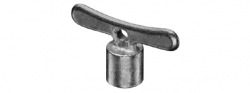 Schell ND ovládací motýlek k ventilům i nezámrzným Polar set, klička  S782300399 (S782300399)
