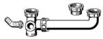 "VIEGA  s.r.o. - Sifonové spojení 6/4"" -2dřez 8-30cm  104917 (V 104917)"