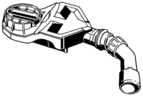 VIEGA  s.r.o. - Viega Advantix Vario ND sifon ke žlábku 721671, mod.4966.18 (V 721718)