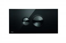 VIEGA  s.r.o. - Viega Visign for Style10 černá čelní ovl.deska, RAL9005 (V 686543)