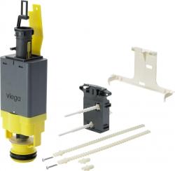 Viega-ND vypouštěcí ventil pro moduly 606732, 606664, 656102 (dvoutlačítkové, zepředu)  611224 (V 611224) - VIEGA  s.r.o.