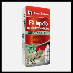 DEN BRAVEN - DenBraven FX lepidlo na obklady a dlažbu QUARTZ FX C2TE, 25kg pytel - 57103Q (57103Q)