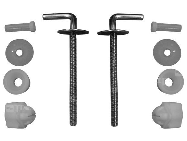 JIKA WC sed. úchyty kov k duroplast Lyra Plus kombi, komplet 8.9438.2.000.000.1 H8943820000001
