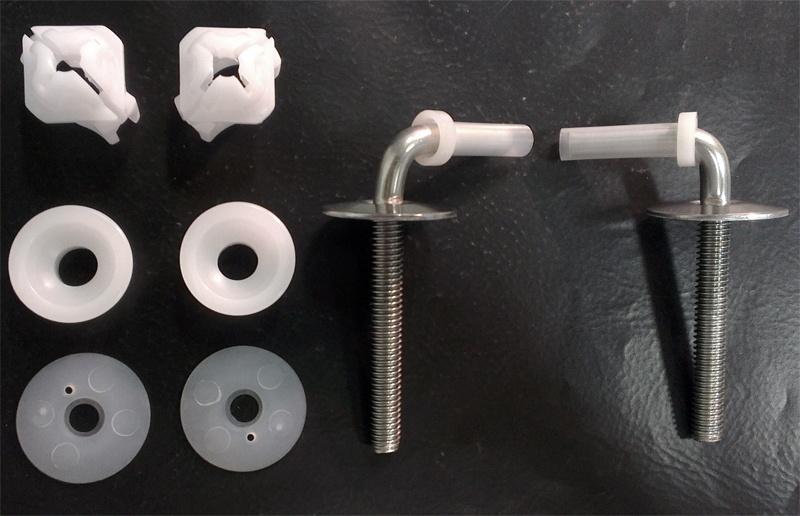 JIKA WC sed. úchyty kov k duroplast Lyra Plus závěsné, komplet 8.9438.3.000.000.1 H8943830000001
