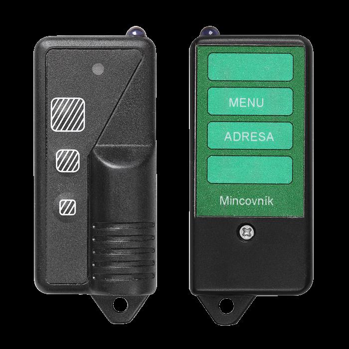 Sanela SLD 05 Dálkové ovládání pro nastavení parametrů mincovních automatů SL 07050