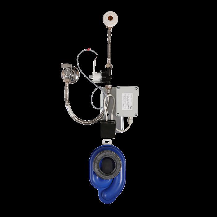 Sanela SLP 07B Radarový splachovač na liště pro pisoáry Nova, Renova, Nova Top, Nova Pro, bateriové napájení 6V SL 11076
