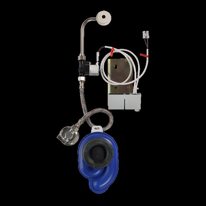 Sanela SLP 36RS Radarový splachovač na liště pro pisoár Golf, 24V DC SL 11365