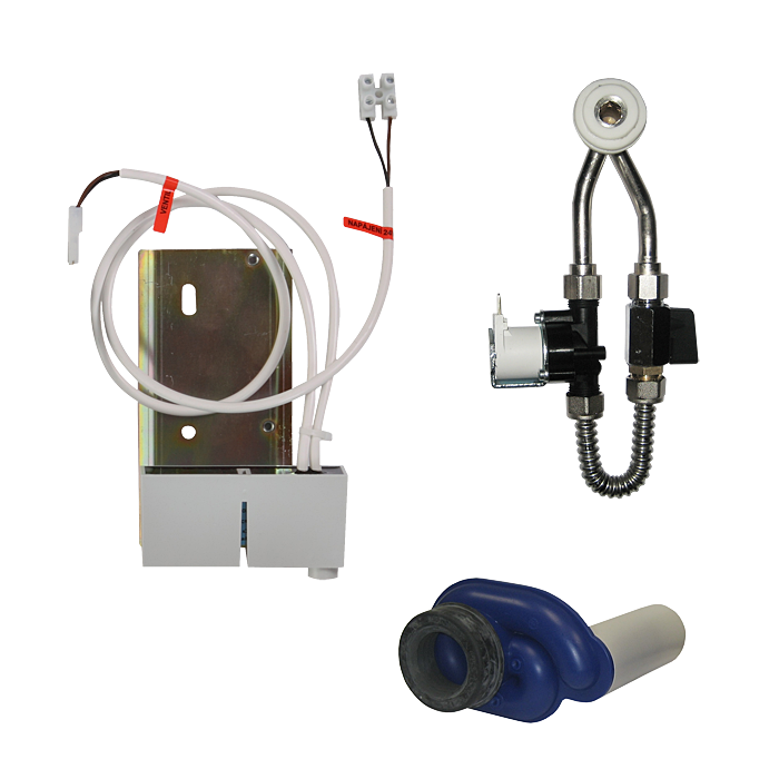 Sanela SLP 68RB Radarový splachovač na liště pro pisoár Omnia Architectura 557400, bateriové napájení 6 V SL 11687