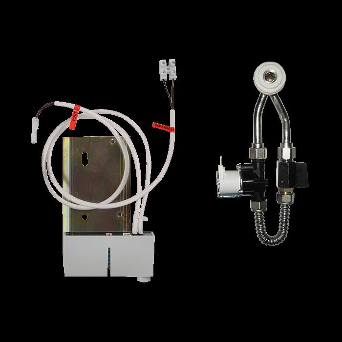 Sanela SLP 69RB Radarový splachovač na liště pro pisoár Architectura 558600, 558700, bateriové napájení 6V SL 11697