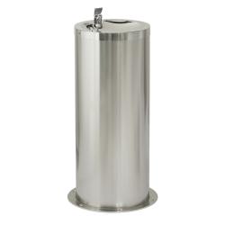 Sanela SLUN 23E Nerezová pitná fontánka na podlahu s automaticky ovládaným výtokem, 24V DC (SL 93231)