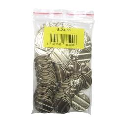 Sanela SLZA 50 Sada 50 ks žetonů do mincovních automatů SLZA 01xx, SLZA 02xx, SLZA 03xx (SL 88500)