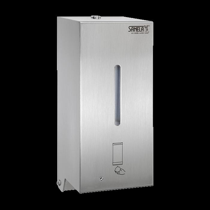 Sanela SLZN 72E Automatický nerezový nástěnný dávkovač pěnového mýdla, 0,85 l, matný SL 85727