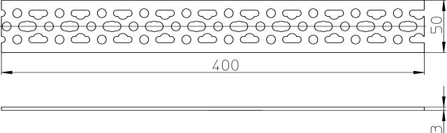 Ostatní HL konzole pro sádrokarton HL405B HL405B