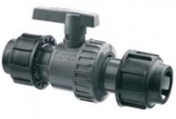 PROFI SPOJKY - PP-S ventil kulový  O-O 20  matka/matka PN16 32VSI16G020 (32VSI16G020)