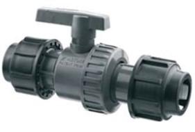 PROFI SPOJKY - PP-S ventil kulový  O-O 32  matka/matka PN16 32VSI16G032 (32VSI16G032)