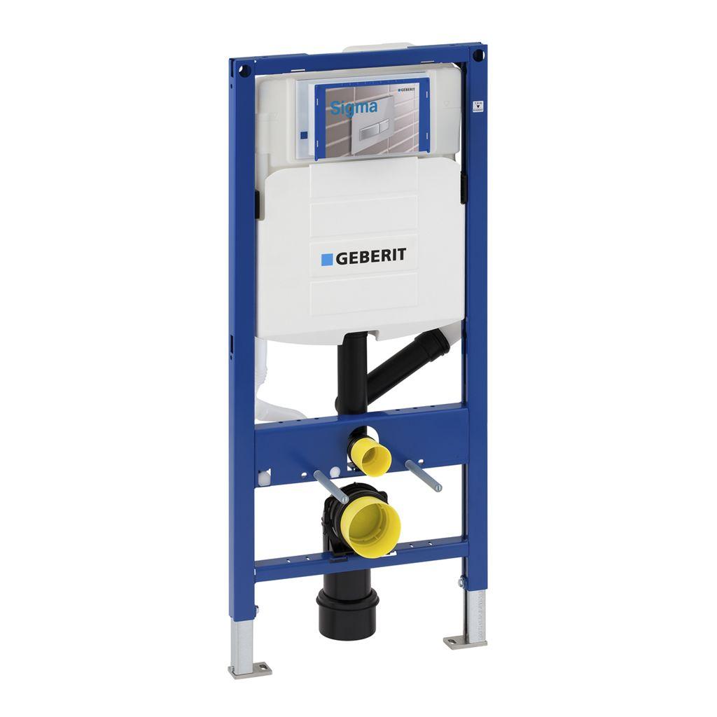Geberit Duofix modul pro WC, 112cm, s odsáváním přes ovl.tlačítko Sigma 40, UP320 111.370.00.5 111.3