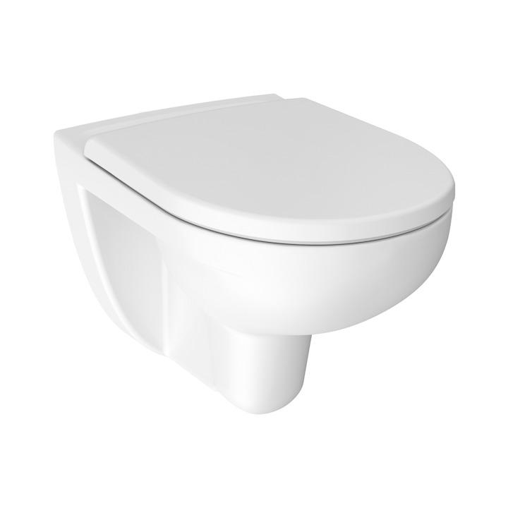 JIKA Lyra Plus WC mísa závěsná Rimless, hluboké splachování H8213840000001 H8213840000001