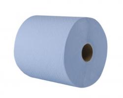 Ostatní - AND GO Papírové role  Excellent Y2 175m, 2 vrstvý, modrý, recykl. Šířka 20cm, pr.19,5  42010000 (42010000)