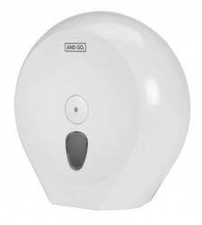 Ostatní - AND GO Zásobník na toaletní papír Maxi D4 - průměr 29 cm bílá 40012000 (40012000)